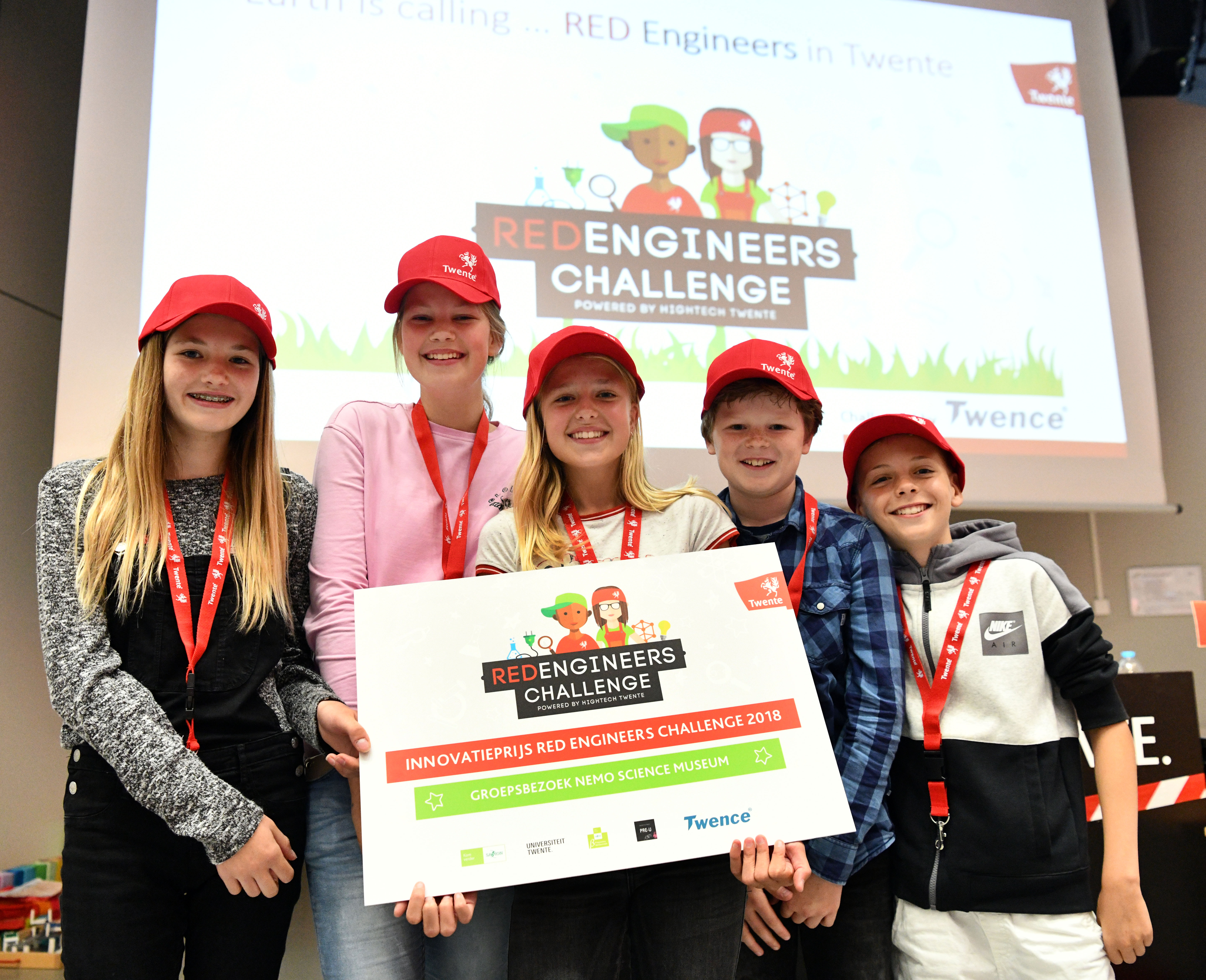 Innovatieprijs Basisschool Alfonsus finale RED Engineers Challenge
